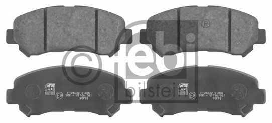 FEBI BILSTEIN 16738 Комплект тормозных колодок, дисковый тормоз для NISSAN QASHQAI (Ниссан Кашкай)