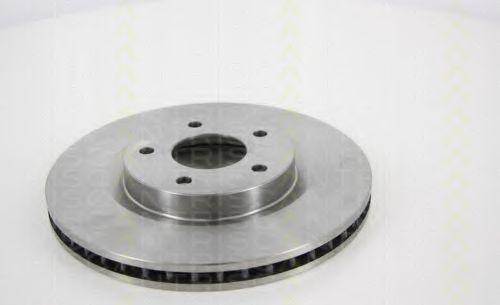 TRISCAN 8120 14169 Тормозной диск для NISSAN QASHQAI (Ниссан Кашкай)