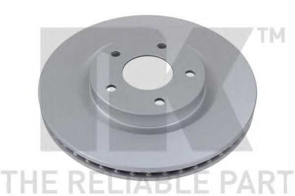 NK 312272 Тормозной диск для NISSAN QASHQAI (Ниссан Кашкай)
