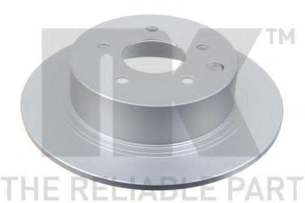 NK 312273 Тормозной диск для NISSAN QASHQAI (Ниссан Кашкай)