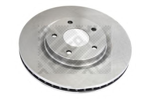 MAPCO 25240 Тормозной диск для NISSAN QASHQAI (Ниссан Кашкай)