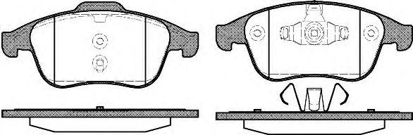 ROADHOUSE 2876.01 Комплект тормозных колодок, дисковый тормоз для NISSAN QASHQAI (Ниссан Кашкай)