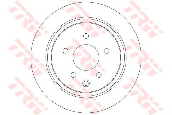 TRW DF7369 Тормозной диск для NISSAN QASHQAI (Ниссан Кашкай)