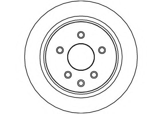 NATIONAL NBD1199 Тормозной диск для NISSAN QASHQAI (Ниссан Кашкай)