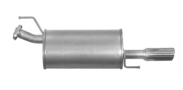 IMASAF 51.75.07 Глушитель выхлопных газов конечный для NISSAN JUKE (Ниссан Джук)