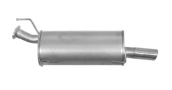 IMASAF 51.77.07 Глушитель выхлопных газов конечный для NISSAN JUKE (Ниссан Джук)