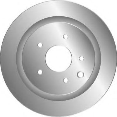 MGA D1763 Тормозной диск для NISSAN QASHQAI (Ниссан Кашкай)