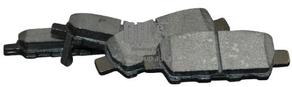 JP GROUP 4063700619 Комплект тормозных колодок, дисковый тормоз для NISSAN QASHQAI (Ниссан Кашкай)