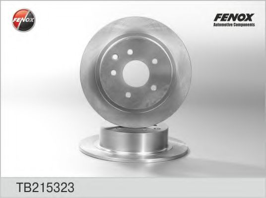 FENOX TB215323 Тормозной диск для NISSAN QASHQAI (Ниссан Кашкай)
