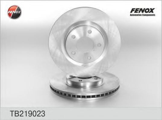FENOX TB219023 Тормозной диск для NISSAN QASHQAI (Ниссан Кашкай)