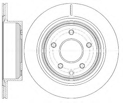 KAWE 6998 10 Тормозной диск для NISSAN QASHQAI (Ниссан Кашкай)