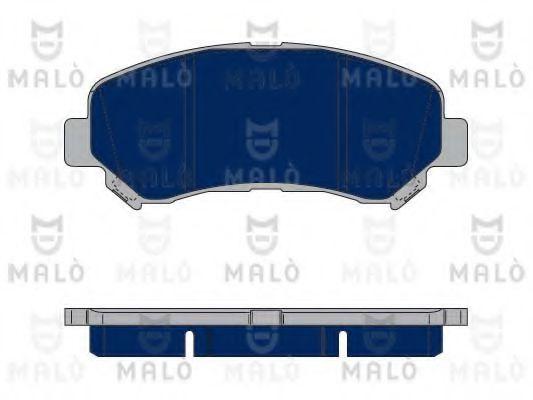 MALÒ 1050080 Комплект тормозных колодок, дисковый тормоз для NISSAN QASHQAI (Ниссан Кашкай)