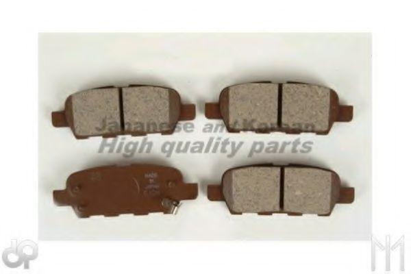 ASHUKI 1083-4401A Комплект тормозных колодок, дисковый тормоз для NISSAN QASHQAI (Ниссан Кашкай)