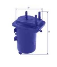 UNICO FILTER FI 11186/7 Топливный фильтр для NISSAN JUKE (Ниссан Джук)