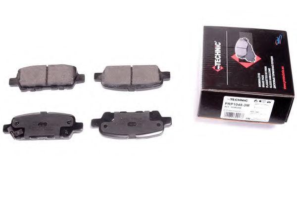 PROTECHNIC PRP1048-3M Комплект тормозных колодок, дисковый тормоз для NISSAN QASHQAI (Ниссан Кашкай)