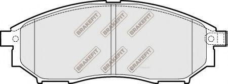 APEC braking PD3209 Комплект тормозных колодок, дисковый тормоз для NISSAN QASHQAI (Ниссан Кашкай)