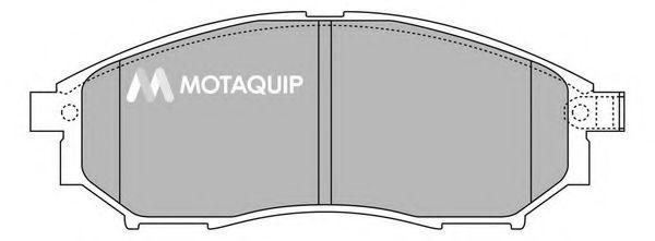 MOTAQUIP LVXL1371 Комплект тормозных колодок, дисковый тормоз для NISSAN QASHQAI (Ниссан Кашкай)
