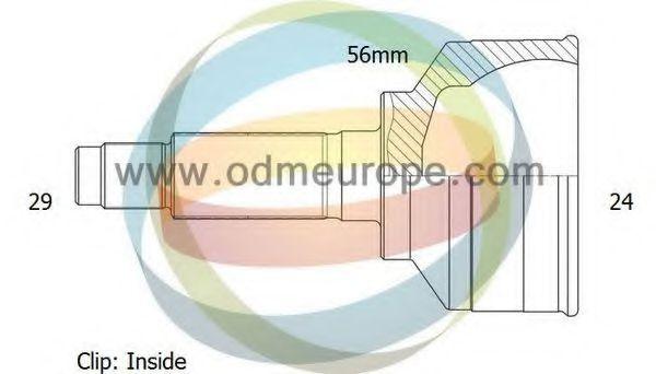 ODM-MULTIPARTS 12-060113 Шарнирный комплект, приводной вал для NISSAN JUKE (Ниссан Джук)