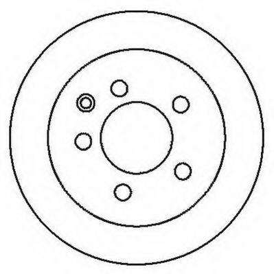 JURID 562280JC Тормозной диск для NISSAN QASHQAI (Ниссан Кашкай)