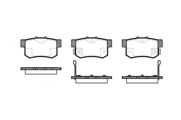 Dr!ve  DP1010.10.0370 Комплект тормозных колодок, дисковый тормоз для GREAT WALL HOVER H6 (Грейтвол Хоvэр х6)