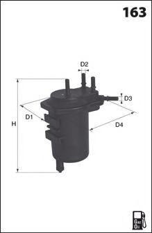 LUCAS FILTERS LFDF114 Топливный фильтр для NISSAN JUKE (Ниссан Джук)