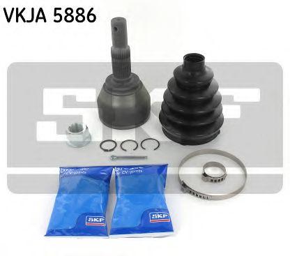SKF VKJA 5886 Шарнирный комплект, приводной вал для NISSAN JUKE (Ниссан Джук)