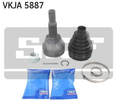SKF VKJA 5887 Шарнирный комплект, приводной вал для NISSAN JUKE (Ниссан Джук)