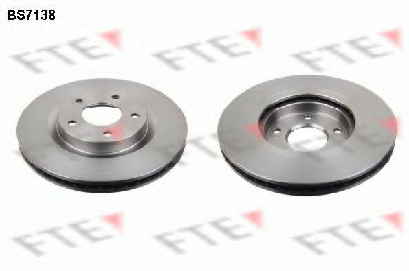 FTE BS7138 Тормозной диск для NISSAN QASHQAI (Ниссан Кашкай)