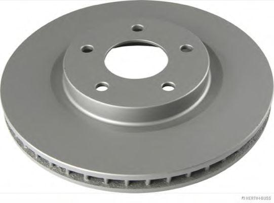 HERTH BUSS JAKOPARTS J3301096 Тормозной диск передний мост для NISSAN QASHQAI (Ниссан Кашкай)