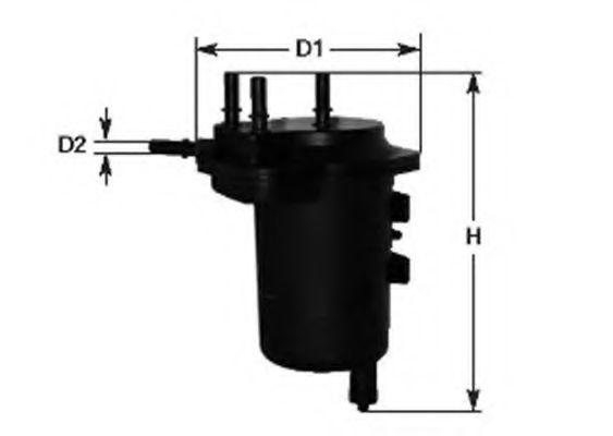 MAGNETI MARELLI 152071760666 Топливный фильтр для NISSAN JUKE (Ниссан Джук)